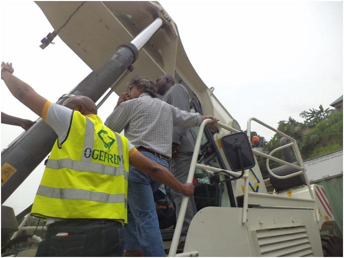 RDC : L'Ogefrem acquiert une autogrue à 800 000 USD