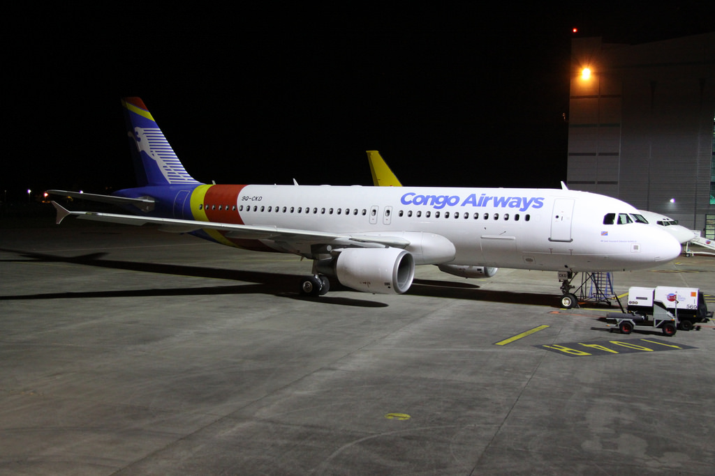 RDC : Congo Airways, l'A320 « LD Kabila » atterri à Ndjili ce samedi