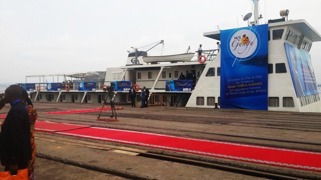 URGENT – Joseph Kabila inaugure ce mardi le bateau MS Gungu à Kinshasa