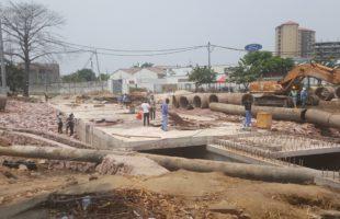 RDC : Boulevard du 30 juin, la construction des dalots à Socimat a couté environs 2 millions USD