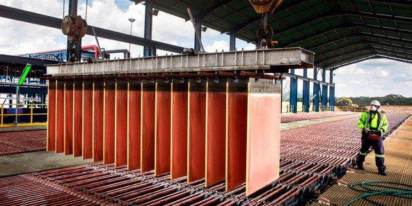 RDC : La production du cuivre augmente de 0,6% au troisième trimestre et le prix de la tonne grimpe !