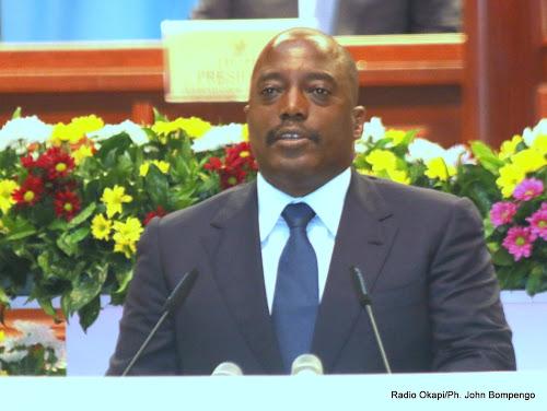 RDC : Le discours du Président J. Kabila sur l'état de la nation [Intégral]