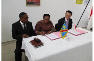 RDC : 79 000 USD du Japon pour la construction de huit Forages d'eau à Kinshasa