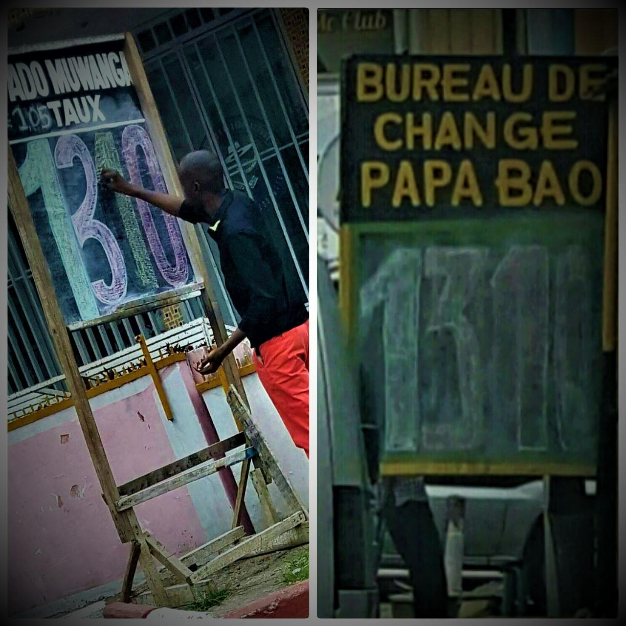 RDC : Taux de change, un dollar pour 1 310 francs congolais à Kinshasa [11/01/2017] 81