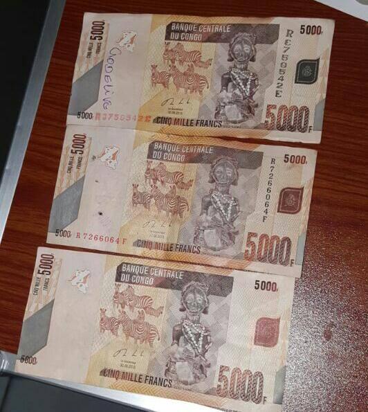 RDC : Franc Congolais, des faux billets en circulation ?
