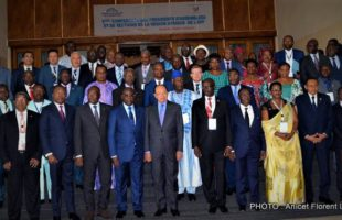 RDC : Minaku présente à l'APF l'évolution positive de la situation politique