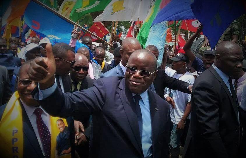 FLASH – Minaku en mission d'évaluation de l'action politique de MP dans le Haut-Katanga [Audio]