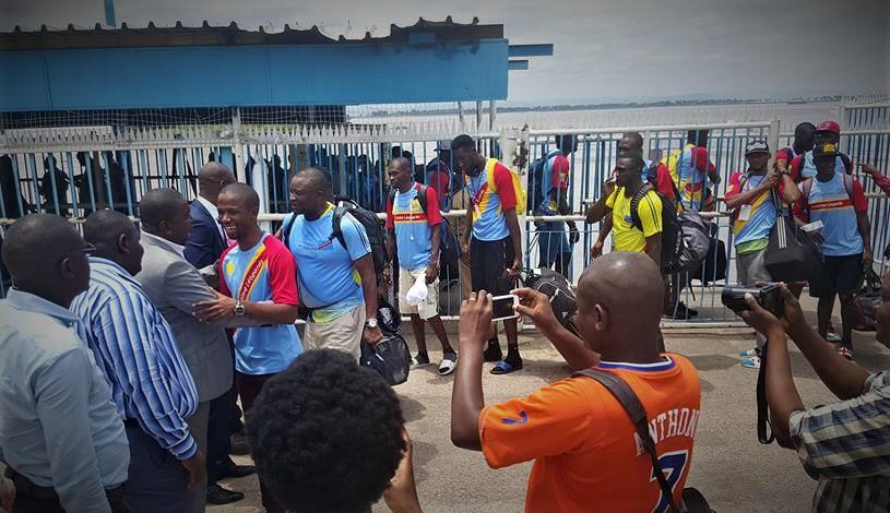 RDC : Les Léopards Basket regagnent Kinshasa avec leur ticket pour l'AfroBasket 2017 1
