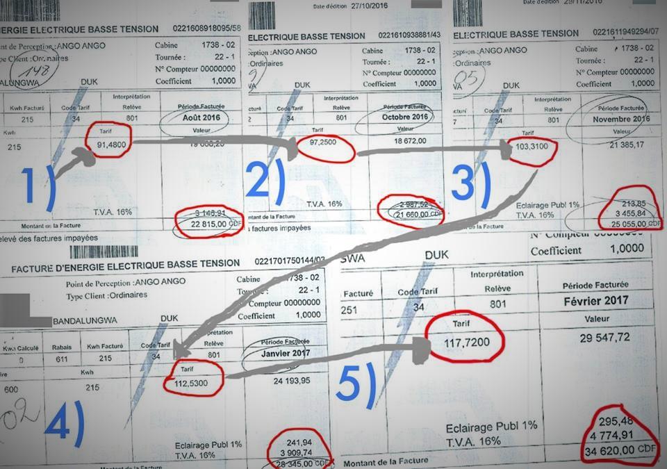 [ENQUETE] – En sept mois, la facture de l'électricité a augmentée de 50% à Kinshasa !