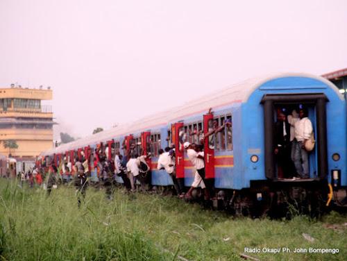 Kinshasa : Train urbain, aucune perspective de relance depuis 2 ans