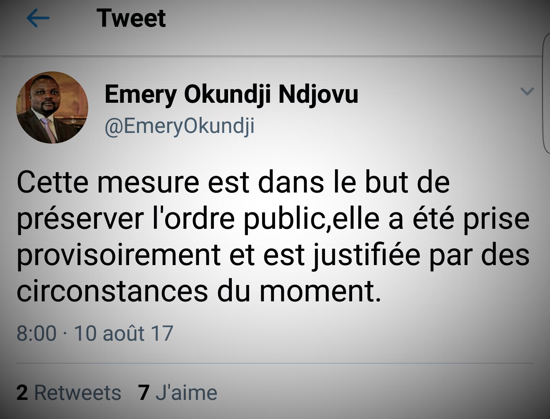 RDC : Restriction des réseaux sociaux, les Télécoms ont exécuté un ordre illégal selon Georges Kapiamba