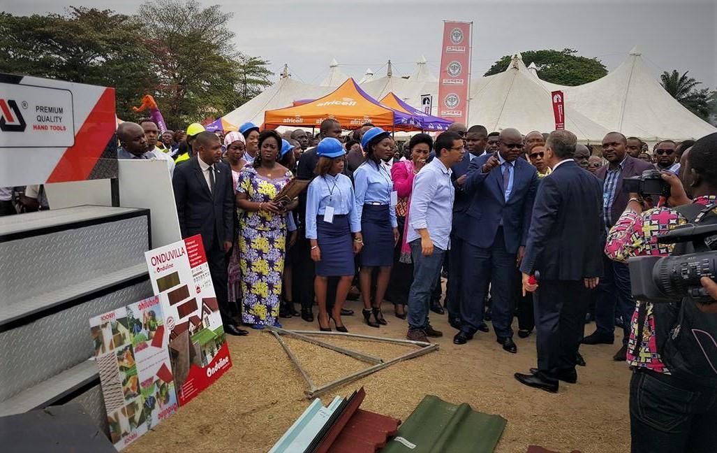 RDC : Expo Béton 2017, c'est parti pour 4 jours d'échanges et d'expositions !