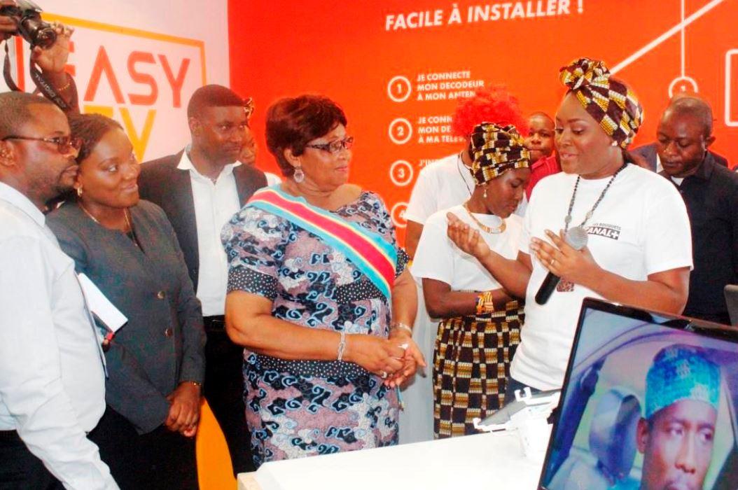 Kinshasa : Le premier «STORE CANAL+» inauguré à Kintambo Magasin