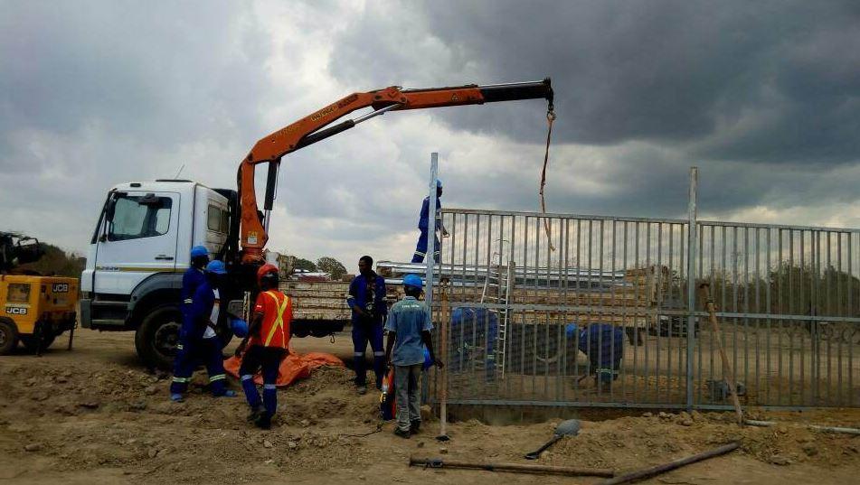 RDC : Lutte contre la fraude, 1 300 mètres de clôture déjà construits à Kasumbalesa !