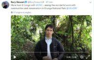 RDC: Rory Stewart entame sa visite de 72 heures par Goma!