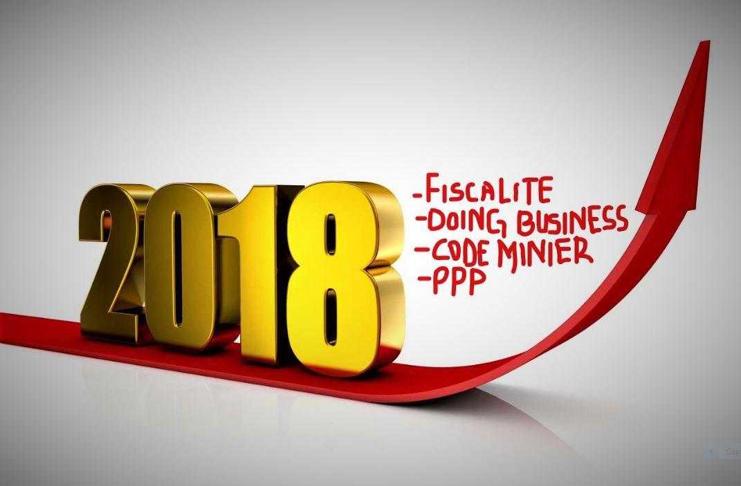 RDC: Mise en œuvre de quatre réformes attendue 2018!