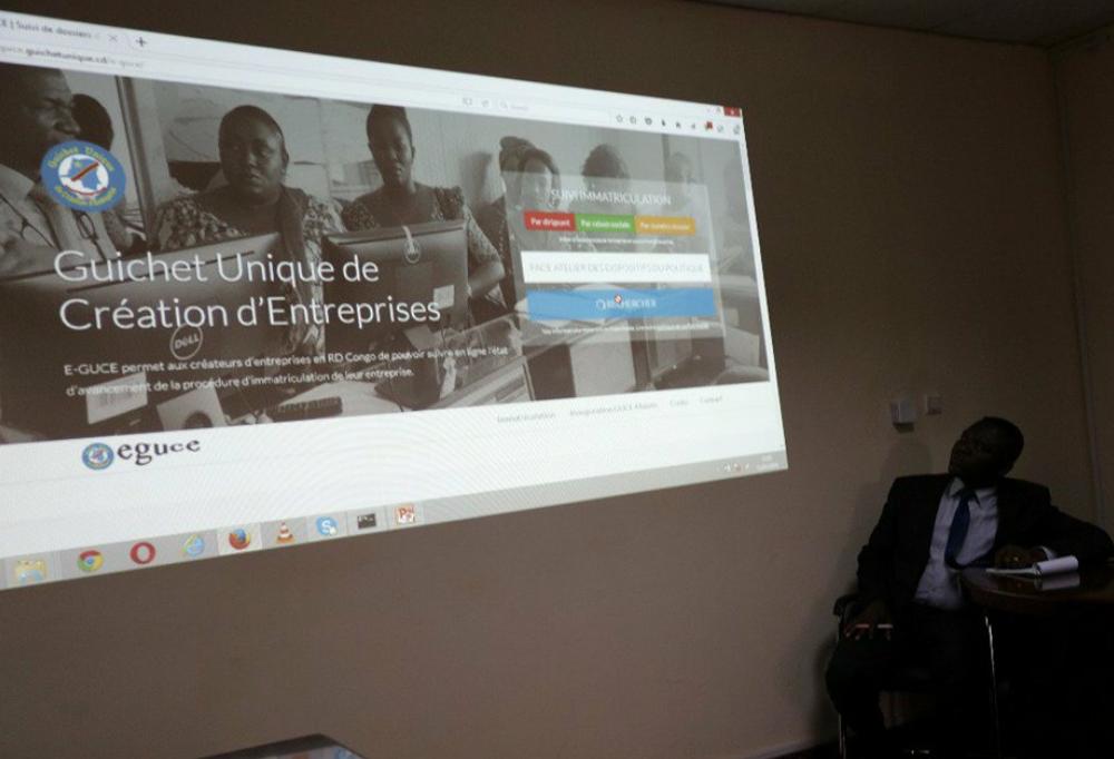 RDC : Création d'entreprise, l'application mobile «E-GUCE» pour faciliter le suivi!