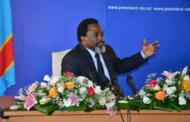 Joseph Kabila: «Le Congo est sur la bonne voie des élections»