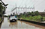 KINSHASA : Dégâts des pluies, le Poste Haute Tension de Funa inondé !