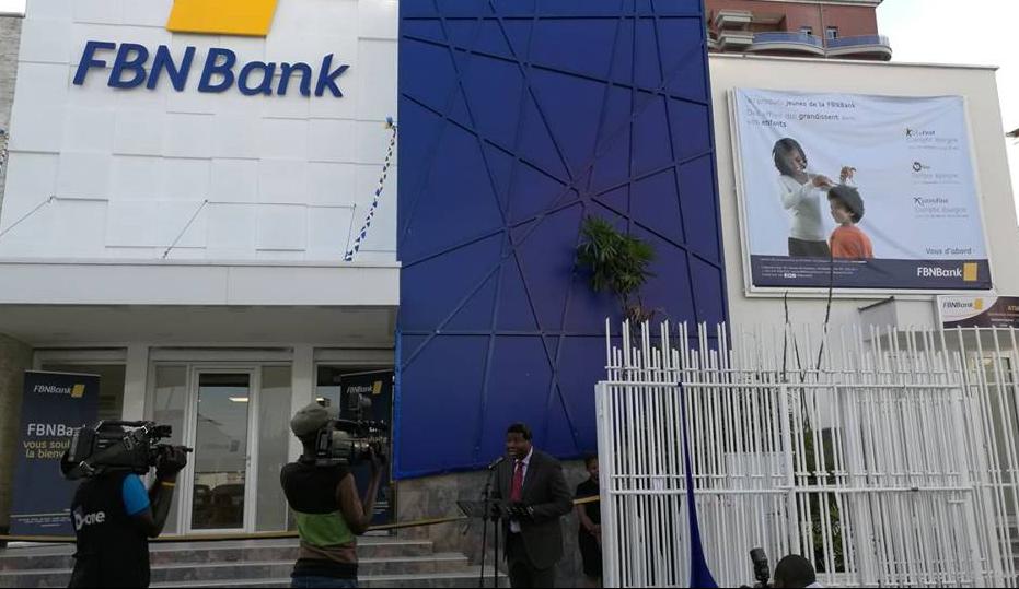 RDC : FBNBank se dote d'une nouvelle agence privilège à Kinshasa !