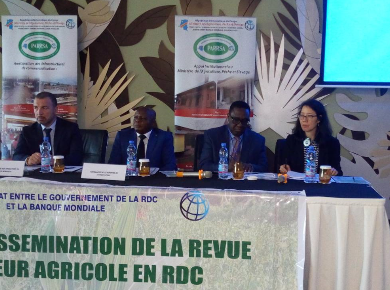 RDC : la Banque mondiale présente sa revue annuelle du secteur agricole 2017 ! 23