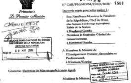 RDC : Tshibala sanctionne l'indiscipline «caractérisée» de Gaston Musemena !
