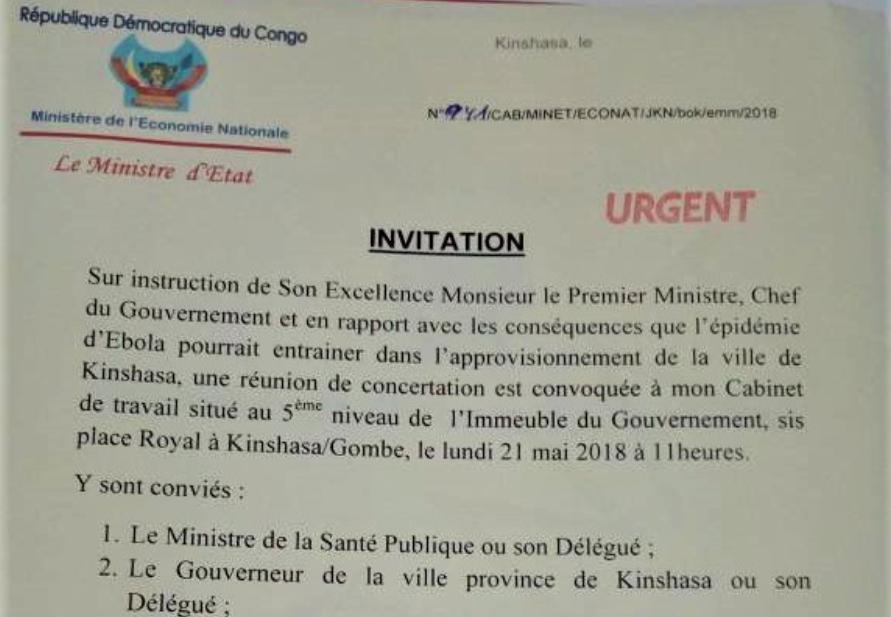 RDC: Kapika s'active à stopper la propagation d'Ebola par le commerce des vivres frais! 23