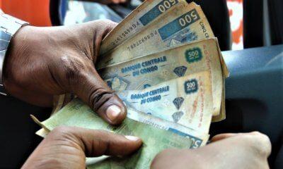 RDC: le franc congolais s'est déprécié de 0,55% en mai 2018 5