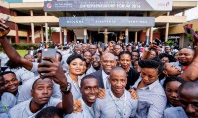 Afrique :Fondation Tony Elumelu, le4èmeforum de l'entrepreneuriat se tiendra le 25 octobre 2018 à Lagos 25