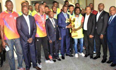 RDC : la SCTP honorée par son équipe de Basketball masculin 5