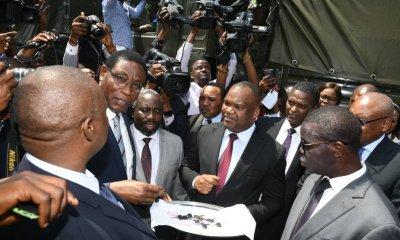RDC : remise officielle de matériels roulants et volants à la CENI ! 10