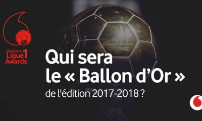 RDC : Vodacom Ligue 1 Awards, vote du ballon d'or lancé jusqu'au 11 octobre 2018 8