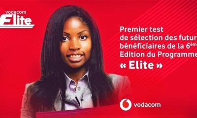 """RDC : lancement du premier test du programme """"Vodacom Elite 2018"""" 20"""