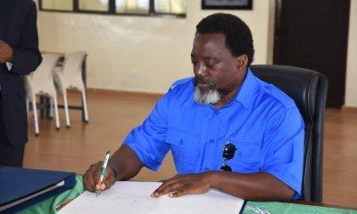 Joseph Kabila : « je vais m'occuper de mes fermes » 9