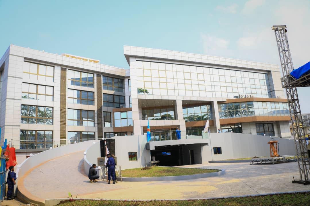 Kinshasa: le nouveau bâtiment de l'Hôtel de ville a coûté près de 6 millions USD 1