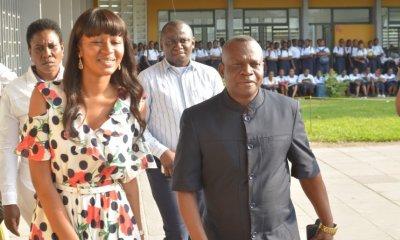 RDC : la députée Aminata visite son ancienne école, le Lycée Shaumba et l'Institut Lisanga 19