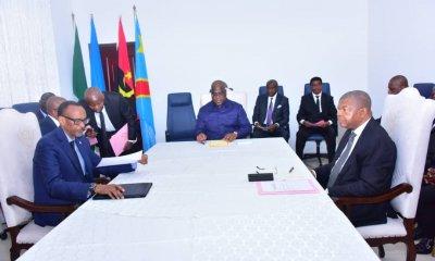 RDC: tripartite Tshisekedi-Kagame-Lorenço, des questions économiques à l'ordre du jour 10
