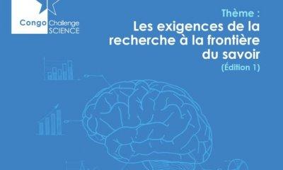 """RDC : 1ère édition du Forum """"Congo Challenge Science"""" prévue le 24 juin à Kinshasa 19"""