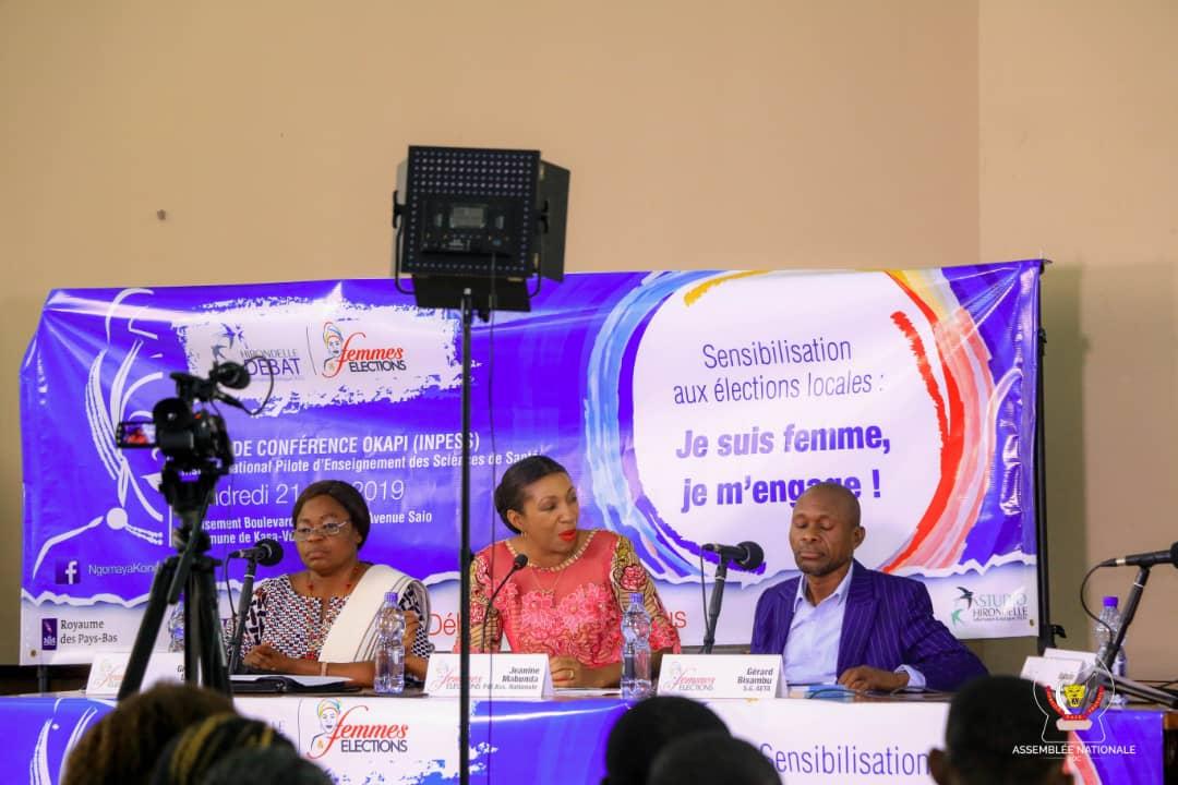 RDC : élections locales, Mabunda invite les structures féminines à accentuer la sensibilisation 1