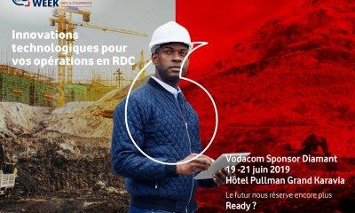 DRC Mining Week : Vodacom, le sponsor WIFI présente ses meilleures innovations technologiques 2