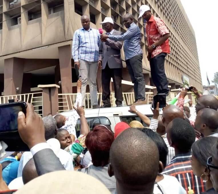 RDC: DGI, les agents observent un arrêt de travail pour réclamer la «plus-value» 1
