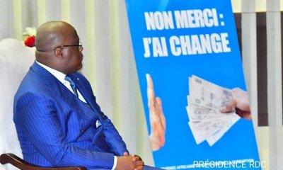 Tshisekedi :« je réitère mon indéfectible engagement à lutter contre la corruption » 4