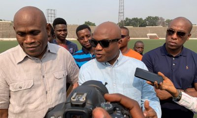 RDC : DIVO lance les travaux de rénovation du stade Tata Raphaël 48