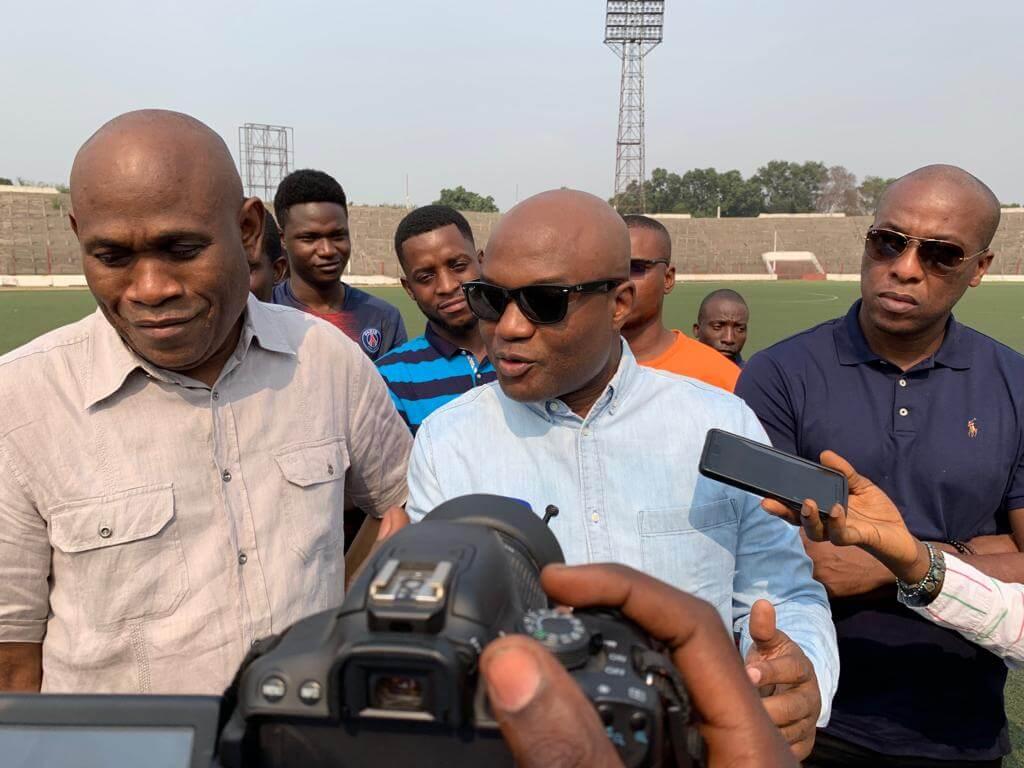 RDC : DIVO lance les travaux de rénovation du stade Tata Raphaël 1