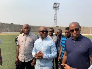 RDC : DIVO lance les travaux de rénovation du stade Tata Raphaël 2