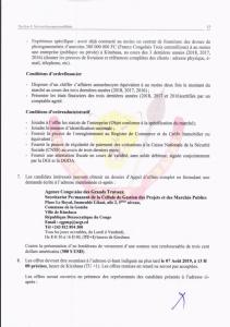 RDC : ACGT lance un Avis d'appel d'offres pour l'acquisition des drones de photogrammétrie 3