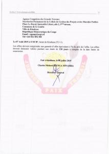 RDC : ACGT lance un Avis d'appel d'offres pour l'acquisition des drones de photogrammétrie 4