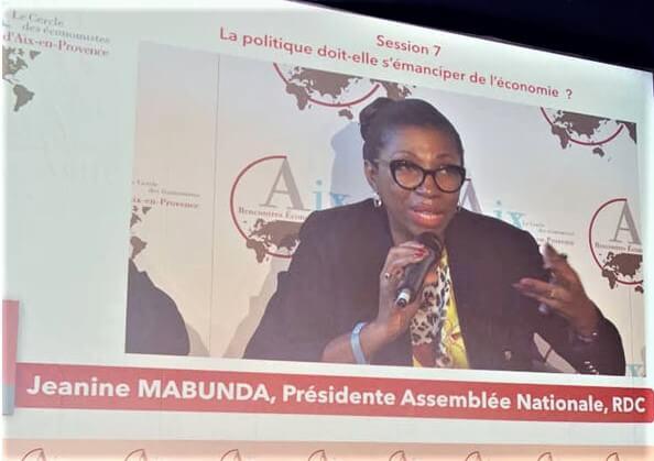 RDC: l'appel de Mabunda aux opérateurs économiques européens depuis Aix-en-Provence 1