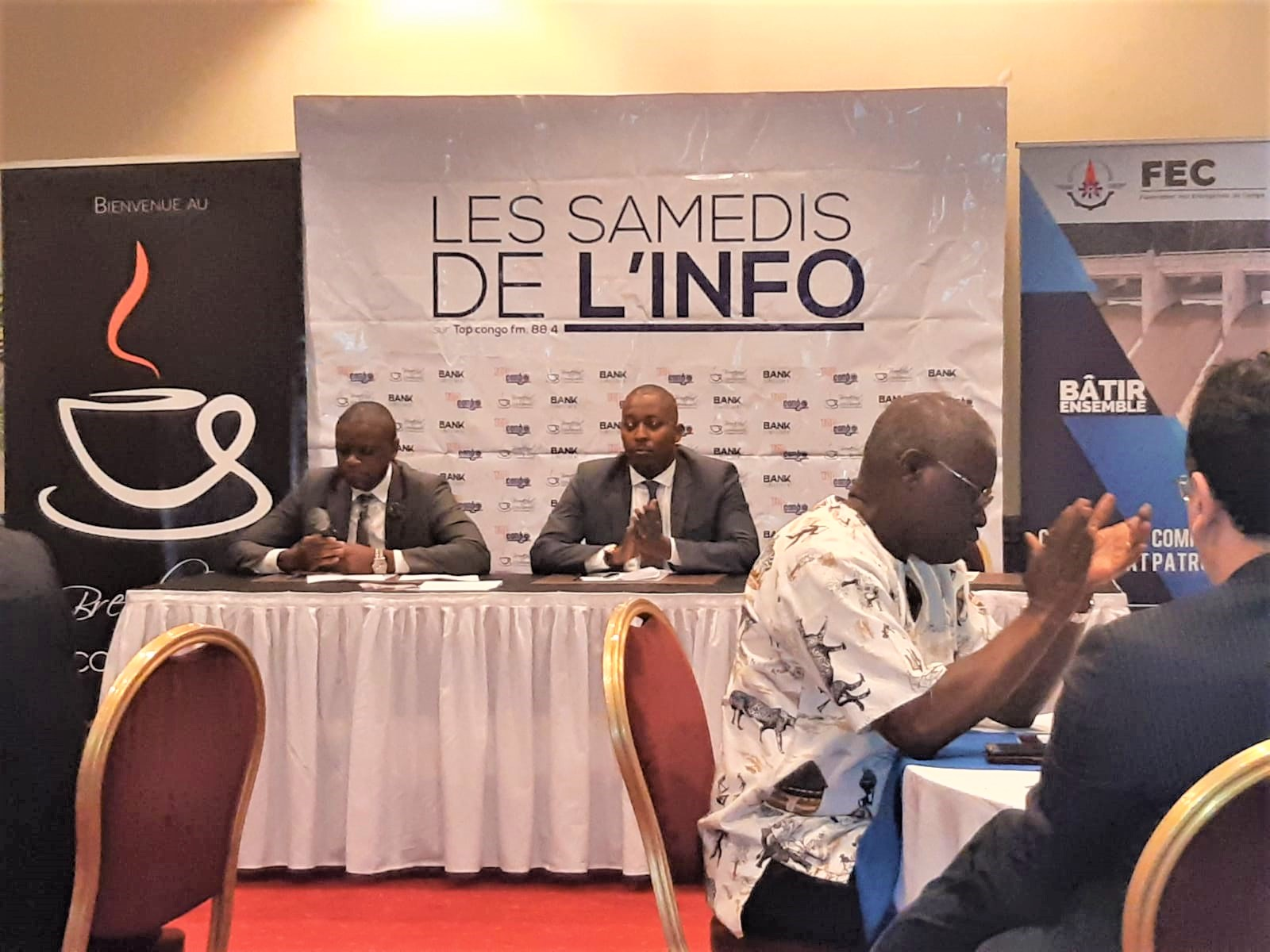 RDC: Patrick Onoya propose trois axes stratégiques pour mieux accompagner les PME 1