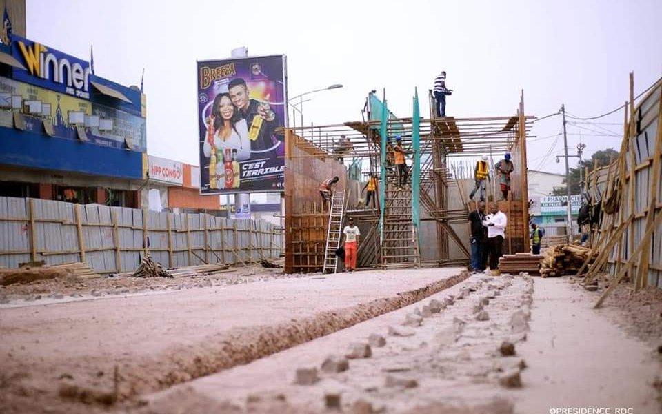 Kinshasa : «sauts-de-mouton», 40% des travaux déjà réalisés (OVD) 4